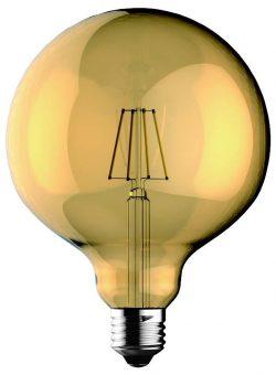 becuri led cu filament globo 5w