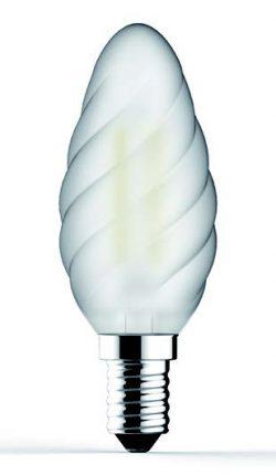 Bec LED cu filament Tortiglione