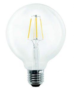 bec led cu filament globo 5w