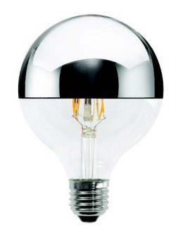 bec led cu filament globo