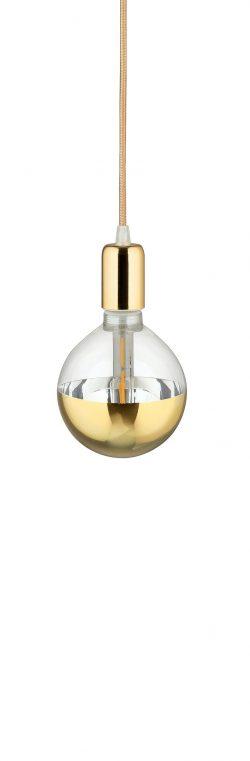 Lampa suspedata LED Pendelglobo Auriu