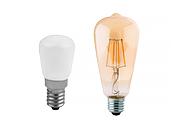 Becuri LED Mica Para E14 si ST64 - E27