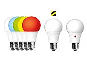 Becuri LED cu senzor Crepuscular - RGB - Emergenta