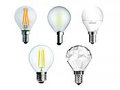 Becuri LED Sfera E27 si E14