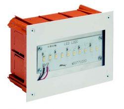 Corp de iluminat cu montaj încastrat pentru interior sau exterior LED Lodi Emer SA Cod-29087