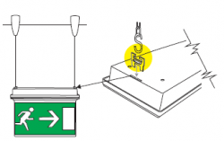 Kit montaj suspendat LED Sirio si LED Venere